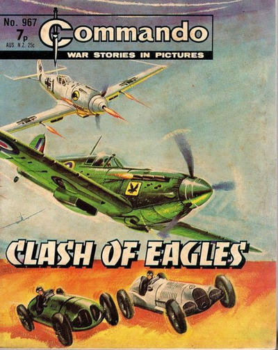 Cover for Commando (D.C. Thomson, 1961 series) #967