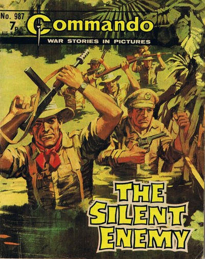 Cover for Commando (D.C. Thomson, 1961 series) #987