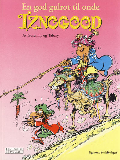 Cover for Iznogood (1998 series) #5 - En god gulrot til onde Iznogood