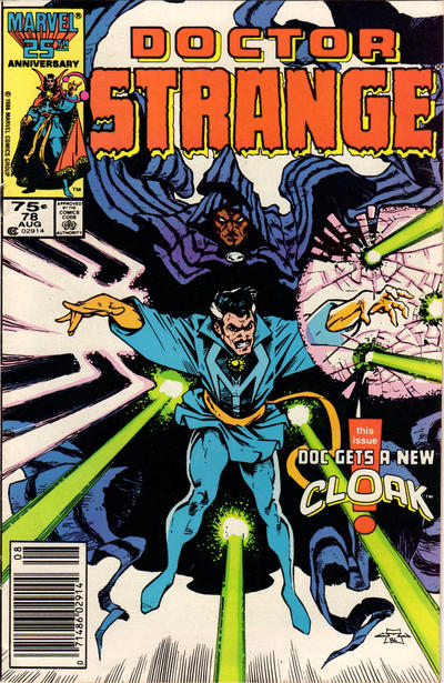 Cover for Doctor Strange (Marvel, 1974 series) #78