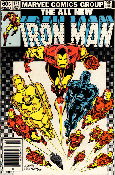Cover for Iron Man (1968 series) #174 [Direct Edition]