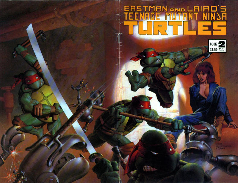 Cover for Teenage Mutant Ninja Turtles (Mirage, 1984 series) #2