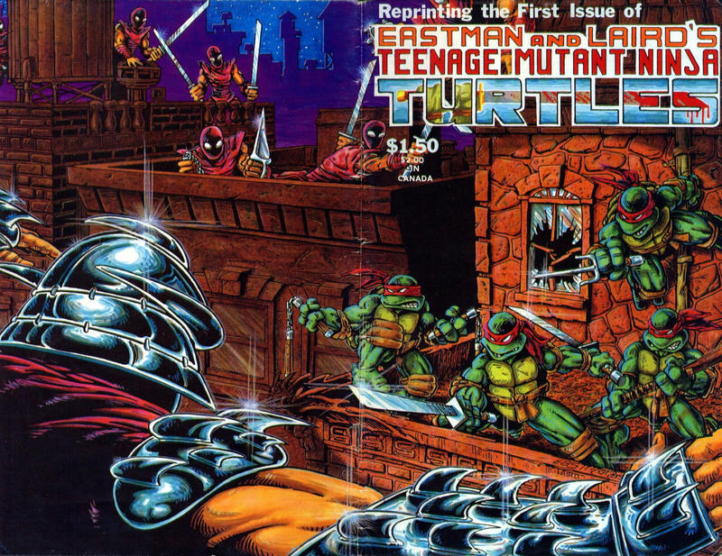 Cover for Teenage Mutant Ninja Turtles (Mirage, 1984 series) #1