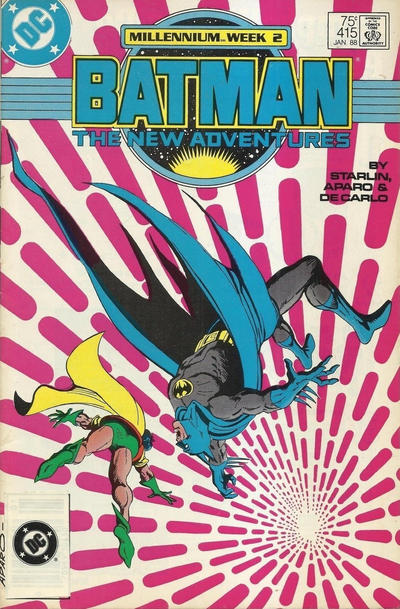 Cover for Batman (DC, 1940 series) #415