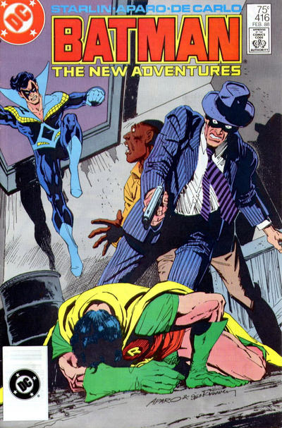 Cover for Batman (DC, 1940 series) #416 [Newsstand Variant]