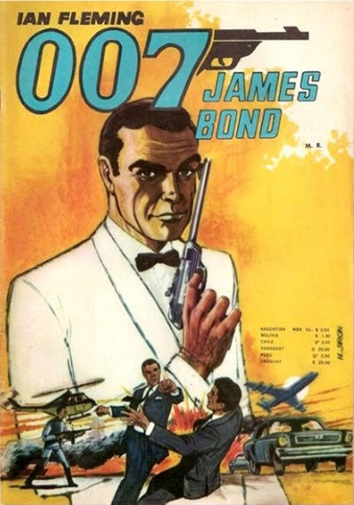 Cover for 007 James Bond (1968 series) #38