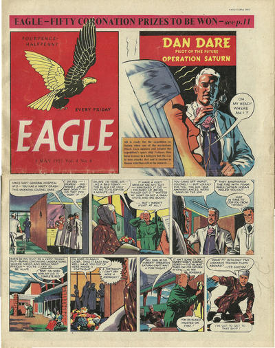 Cover for Eagle (1950 series) #v4#4