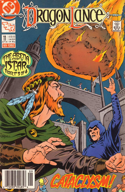 Cover for Dragonlance (1988 series) #11 [Newsstand]