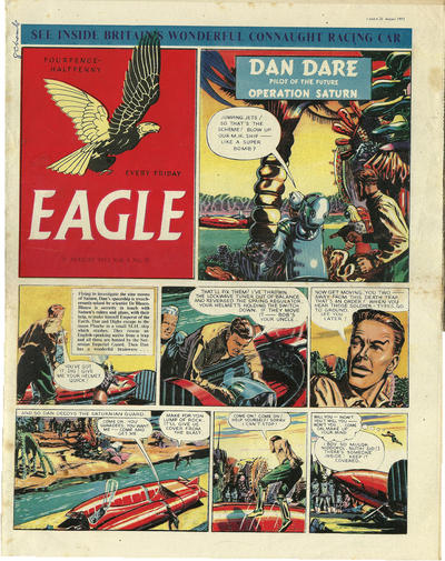Cover for Eagle (Hulton Press, 1950 series) #v4#20