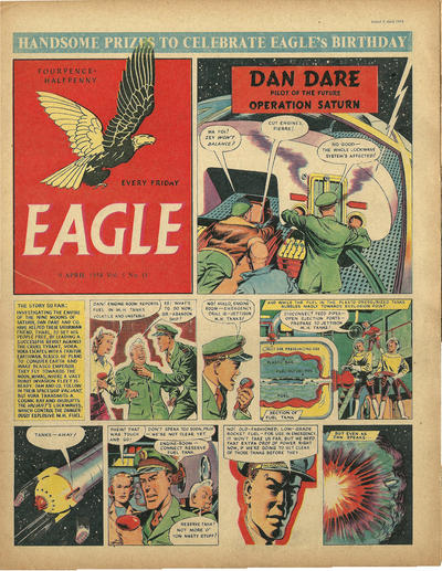 Cover for Eagle (Hulton Press, 1950 series) #v5#15