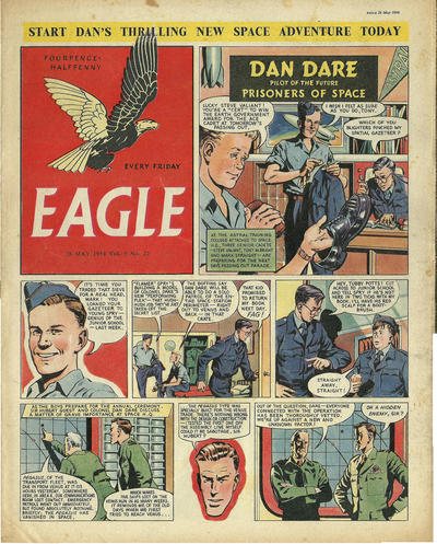 Cover for Eagle (1950 series) #v5#22