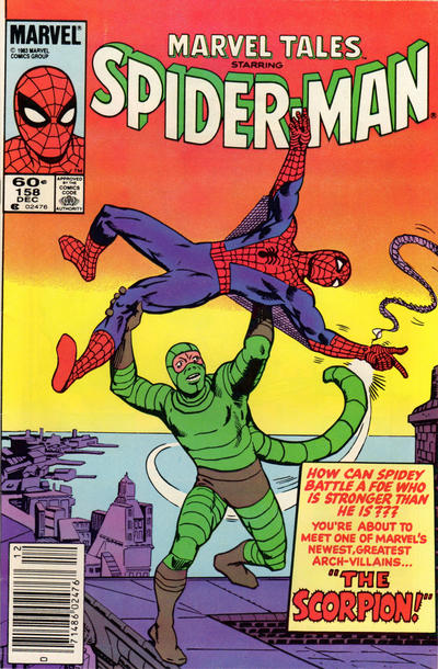 Cover for Marvel Tales (1966 series) #158