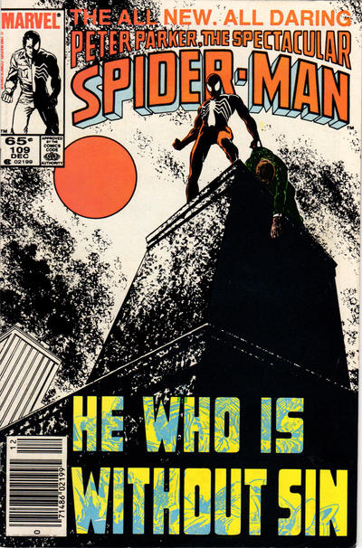 Cover for The Spectacular Spider-Man (1976 series) #109 [Newsstand Edition]