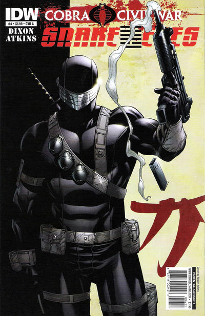 Cover for G.I. Joe: Snake Eyes (IDW, 2011 series) #4 [Cover A]