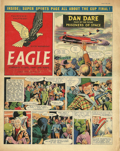 Cover for Eagle (1950 series) #v6#18