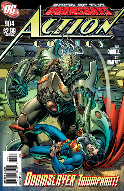 Cover for Action Comics (DC, 1938 series) #904 [Jerry Ordway Variant Cover]