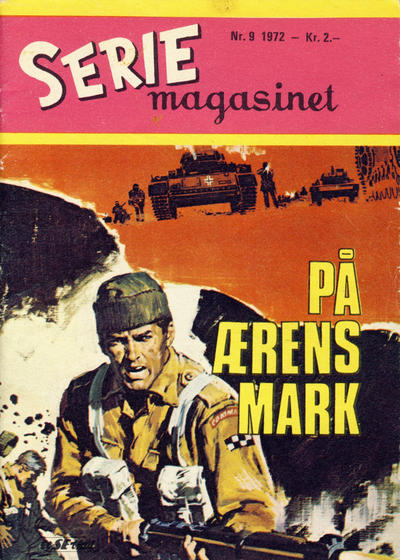 Cover for Seriemagasinet (Serieforlaget / Se-Bladene / Stabenfeldt, 1951 series) #9/1972