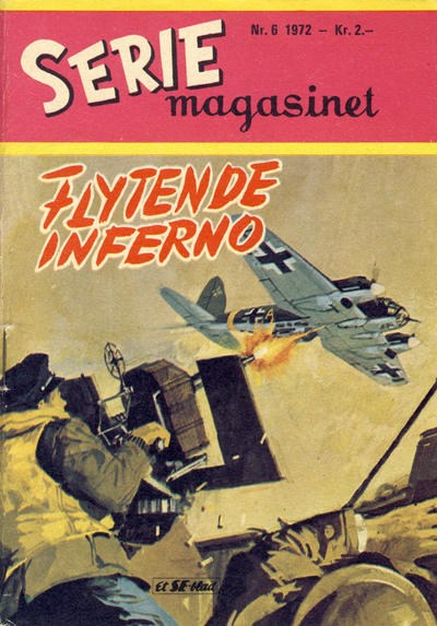 Cover for Seriemagasinet (1955 series) #6/1972