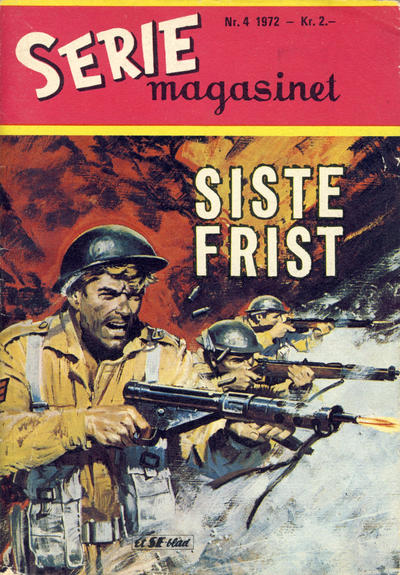 Cover for Seriemagasinet (Se-Bladene - Stabenfeldt, 1951 series) #4/1972