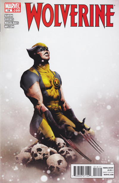 Cover for Wolverine (Marvel, 2010 series) #14