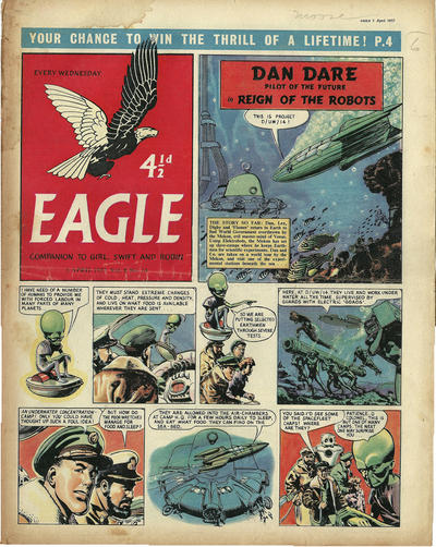 Cover for Eagle (Hulton Press, 1950 series) #v8#14