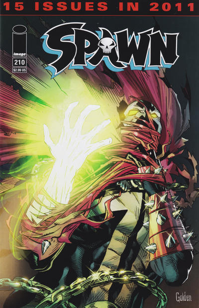 Cover for Spawn (Image, 1992 series) #210