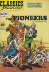 Cover Thumbnail for Classics Illustrated (1947 series) #37 [HRN 92] - The Pioneers [15 cent cover price in yellow circle]