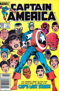Cover Thumbnail for Captain America (Marvel, 1968 series) #299 [Newsstand Edition]