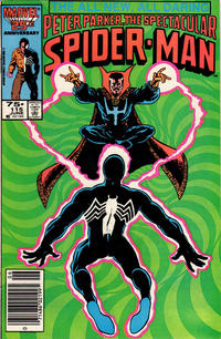 Cover for The Spectacular Spider-Man (1976 series) #115 [direct]