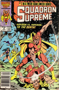 Cover Thumbnail for Squadron Supreme (Marvel, 1985 series) #8 [Newsstand Edition]