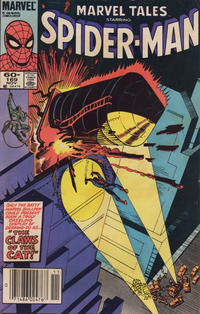 Cover Thumbnail for Marvel Tales (Marvel, 1966 series) #169 [Newsstand Edition]