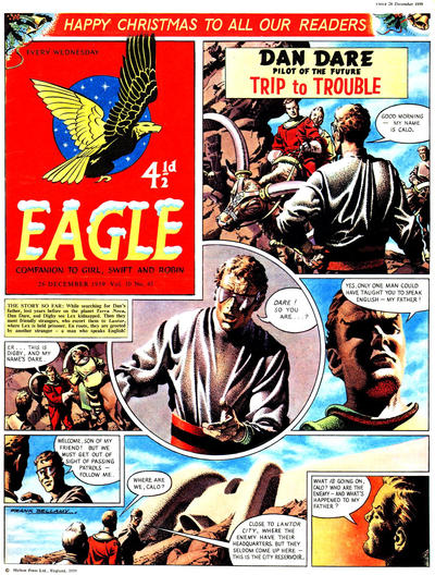 Cover for Eagle (Longacre Press, 1959 series) #v10#45