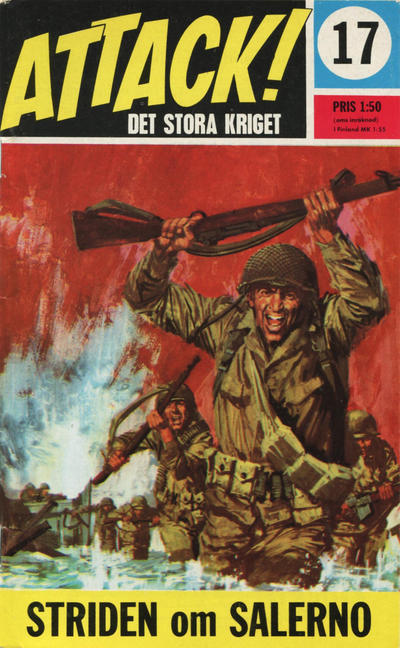 Cover for Attack (Semic, 1967 series) #17