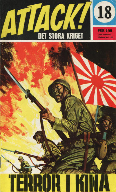 Cover for Attack (Semic, 1967 series) #18