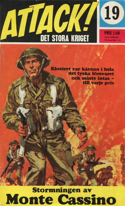 Cover for Attack (Semic, 1967 series) #19