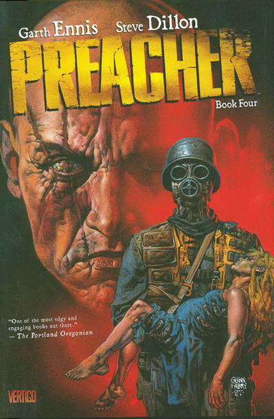 Cover for Preacher (DC, 2009 series) #4