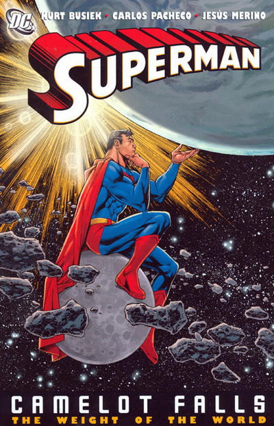 Cover for Superman: Camelot Falls (DC, 2008 series) #2 - The Weight of the World