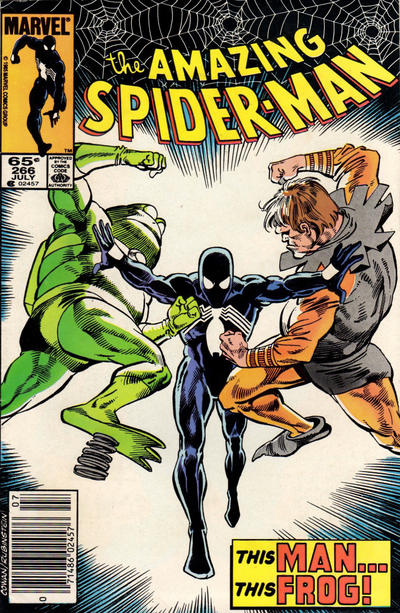Cover for The Amazing Spider-Man (Marvel, 1963 series) #266 [Direct Edition]