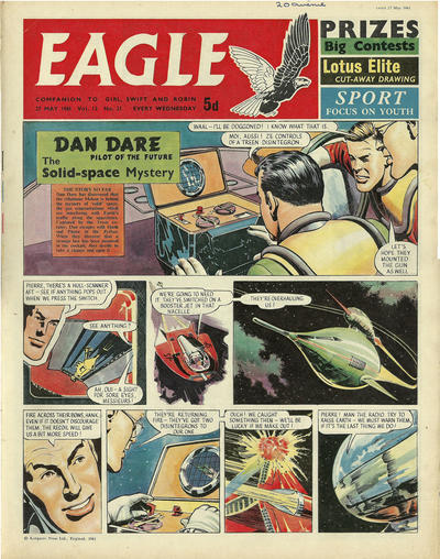 Cover for Eagle (1959 series) #v12#21