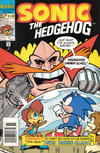 Cover for Sonic the Hedgehog (Archie, 1993 series) #16 [Newsstand Edition]