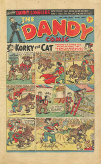 Cover Thumbnail for The Dandy Comic (D.C. Thomson, 1937 series) #383