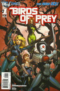 Cover Thumbnail for Birds of Prey (DC, 2011 series) #1