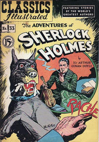 Cover Thumbnail for Classics Illustrated (Gilberton, 1948 series) #33