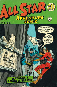 Cover Thumbnail for All Star Adventure Comic (K. G. Murray, 1959 series) #66