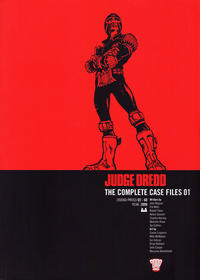 Cover Thumbnail for Judge Dredd The Complete Case Files (Rebellion, 2005 series) #1 [British Edition]