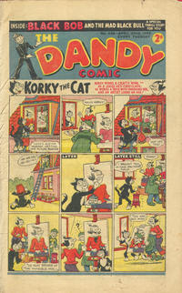 Cover Thumbnail for The Dandy Comic (D.C. Thomson, 1937 series) #439