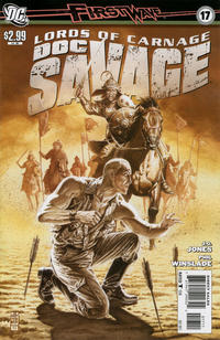 Cover for Doc Savage (DC, 2010 series) #17