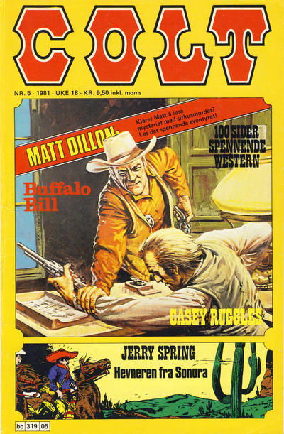 Cover for Colt (Semic, 1978 series) #5/1981