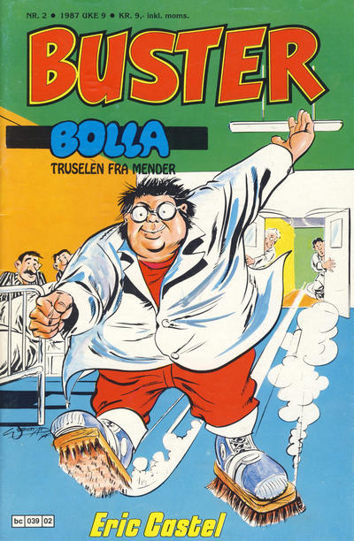 Cover for Buster (Semic, 1984 series) #2/1987