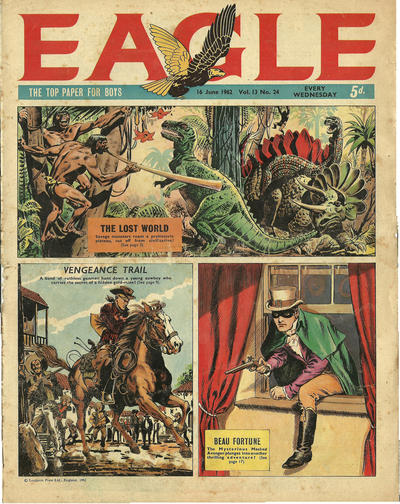 Cover for Eagle (1959 series) #v13#24